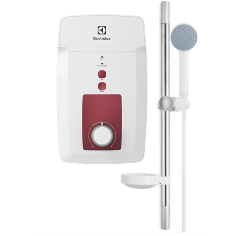 4500W Basic Water Heater - White & Red